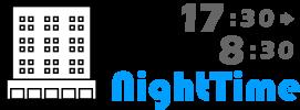 NightTime 17:30~8:30